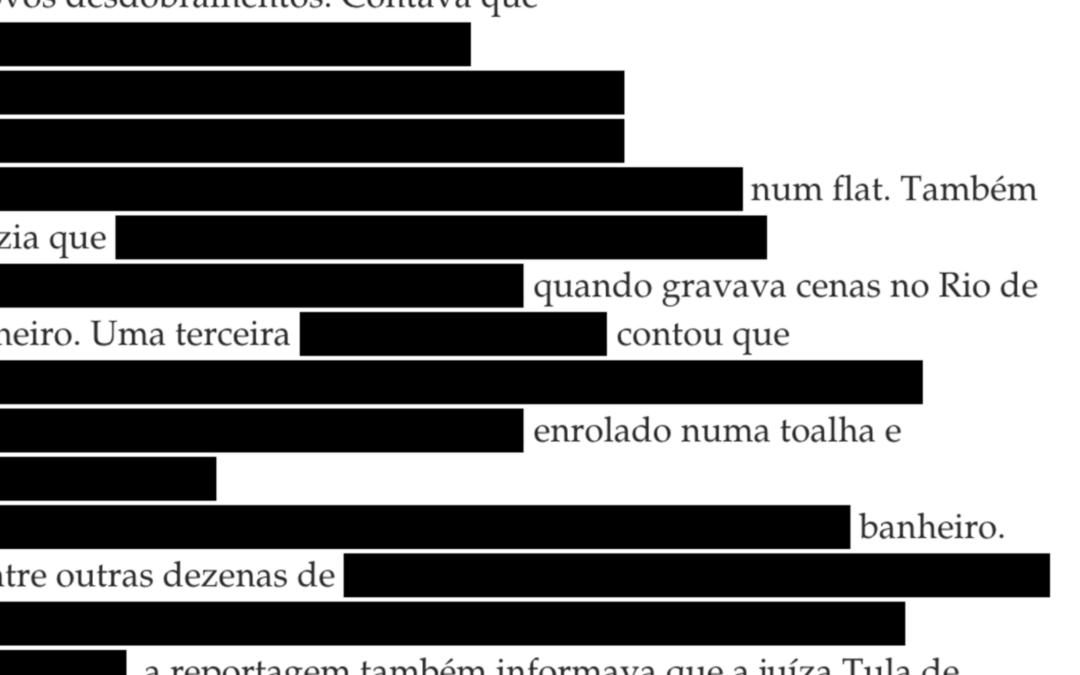 Ajor repudia decisão que censura revista piauí