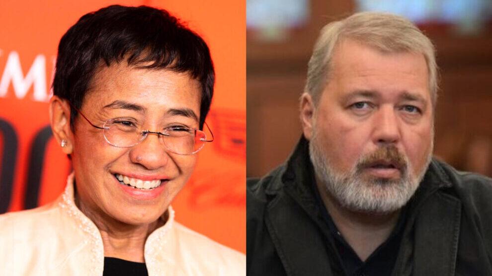 Os Jornalistas Maria Ressa e Dmitri Muratov recebem o Prêmio Nobel da Paz