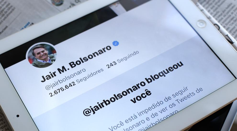 Jair Bolsonaro bloqueia jornalistas e veículos de comunicação de suas redes sociais